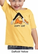Kids Yoga Shirt Copy Cat Toddler Tee T-Shirt