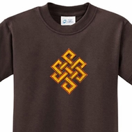 Kids Yoga Shirt Endless Knot Tee T-Shirt
