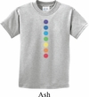 Kids Yoga Shirt Glowing Chakras Tee T-Shirt