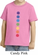 Kids Yoga Shirt Glowing Chakras Toddler Tee T-Shirt