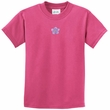 Kids Yoga Shirt Layered Flower Patch Tee T-Shirt