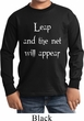Kids Yoga Shirt Leap Long Sleeve Tee T-Shirt