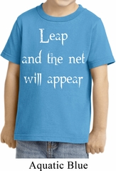 Kids Yoga Shirt Leap Toddler Tee T-Shirt