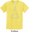 Kids Yoga Shirt Line Warrior Tee T-Shirt
