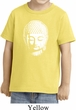 Kids Yoga Shirt Little Buddha Head Toddler Tee T-Shirt