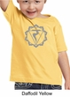 Kids Yoga Shirt Manipura Chakra Meditation Youth Toddler T-shirt