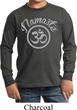 Kids Yoga Shirt Namaste Om Long Sleeve Tee T-Shirt