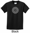 Kids Yoga Shirt Sahasrara Chakra Meditation Youth T-shirt