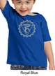 Kids Yoga Shirt Vishuddha Chakra Meditation Youth Toddler T-shirt