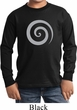 Kids Yoga Shirt Vortex Long Sleeve Tee T-Shirt