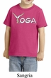 Kids Yoga Shirt Yoga Spelling Toddler Tee T-Shirt