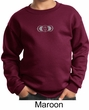 Kids Yoga Sweatshirt AJNA Chakra Meditation Youth Sweat Shirt
