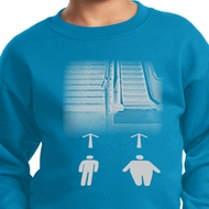 Kids Yoga Sweatshirt Choices Sweat Shirt