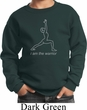 Kids Yoga Sweatshirt Line Warrior Sweat Shirt
