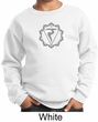 Kids Yoga Sweatshirt Manipura Chakra Meditation Youth Sweatshirt