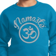 Kids Yoga Sweatshirt Namaste Om Sweat Shirt