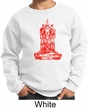 Kids Yoga Sweatshirt Red Tara Sweat Shirt