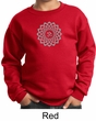 Kids Yoga Sweatshirt Sahasrara Chakra Meditation Youth Sweatshirt