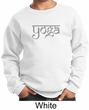 Kids Yoga Sweatshirt Sanskrit Yoga Text Youth Sweat Shirt
