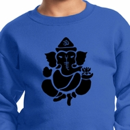 Kids Yoga Sweatshirt Shadow Ganesha Sweat Shirt