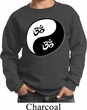 Kids Yoga Sweatshirt Yin Yang AUM Sweat Shirt