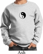 Kids Yoga Sweatshirt Yin Yang Patch Small Print Sweat Shirt