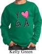 Kids Yoga Sweatshirt Yoga Love Sweat Shirt