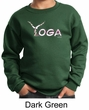 Kids Yoga Sweatshirt Yoga Spelling Sweat Shirt
