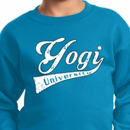 Kids Yoga Sweatshirt Yogi University Sweat Shirt