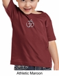Kids Yoga T-shirt Aum Hindu Patch Meditation Toddler Tee Shirt