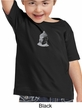 Kids Yoga T-shirt Buddha Buddhist Small Print Toddler Tee Shirt