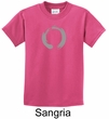 Kids Yoga T-shirt Enso Zen Meditation Youth Tee Shirt