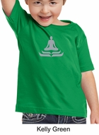 Kids Yoga T-shirt Lotus Pose Meditation Toddler Tee Shirt
