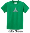 Kids Yoga T-shirt Lotus Pose Meditation Youth Tee Shirt