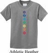 Kids Yoga Tee Diamond Chakras Youth T-shirt