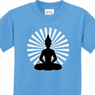 Kids Yoga Tee Meditating Buddha Youth T-shirt