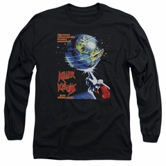 Killer Klowns From Outer Space Long Sleeve Shirt Invaders Black Tee T-Shirt