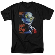 Killer Klowns From Outer Space Shirt Invaders Black Tee T-Shirt
