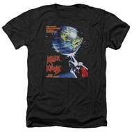 Killer Klowns From Outer Space Shirt Invaders Heather Black T-Shirt