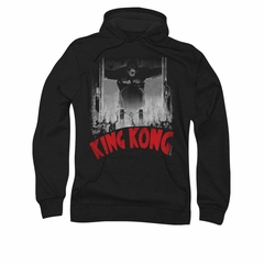 King Kong Hoodie Sweatshirt At The Gates Poster Black Adult Hoody Sweat Shirt