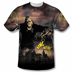 King Kong Kong In The City Sublimation Shirt