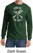 King Of The Grill Long Sleeve Shirt Barbecue Utensils Adult Shirt
