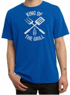 King Of The Grill Pigment Dyed T-shirt Barbecue Utensils Adult Tee