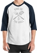 King Of The Grill Raglan Shirt Barbecue Utensils Adult Shirt