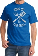 King Of The Grill T-shirt Barbecue Utensils Adult Tee Shirt
