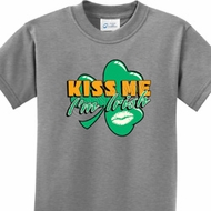 Kiss Me I'm Irish Kids St Patrick's Day Shirts