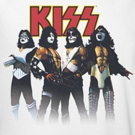 Kiss Throwback Pose Shirts
