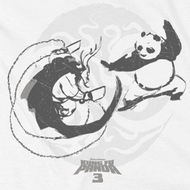 Kung Fu Panda 3 Face Off Shirts
