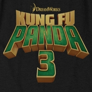 Kung Fu Panda 3 Movie Logo Shirts