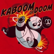Kung Fu Panda Kaboom Of Doom Shirts